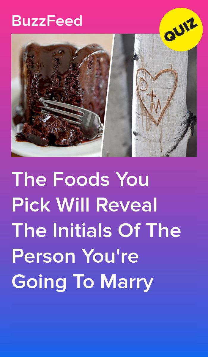 We Know Your Soulmate's Initials Based On The Foods You Pick