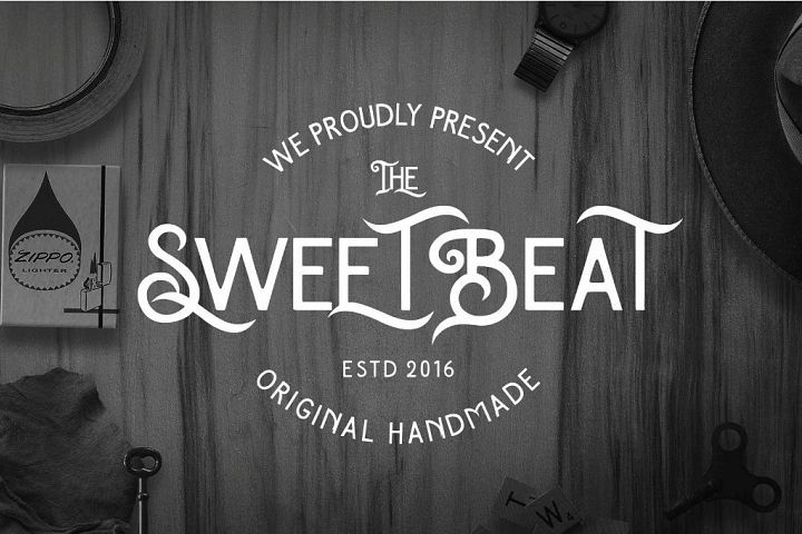 The SweetBeat Typeface   My Fonts   Typeface font, Fonts