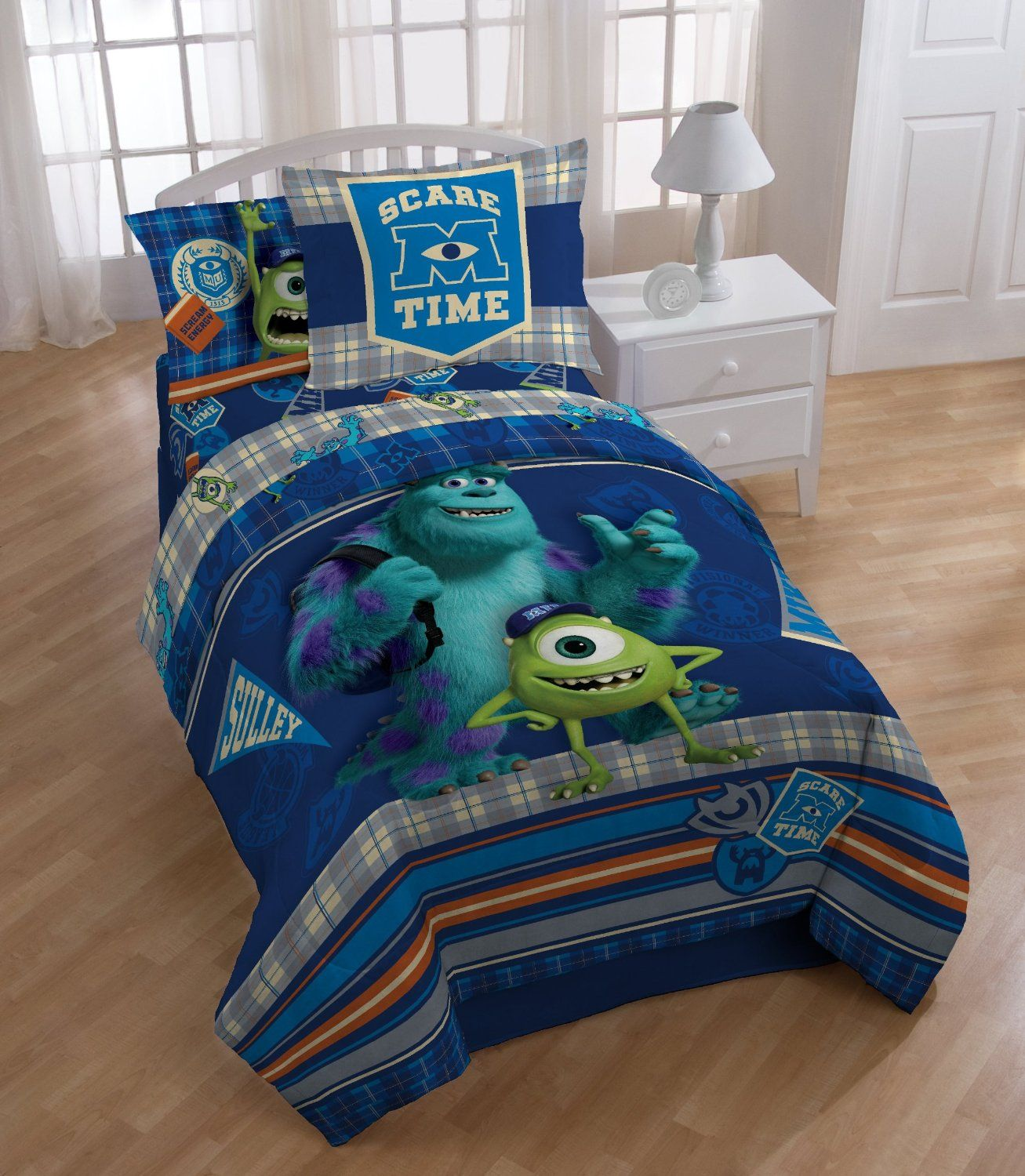 Monster University Scare Care Comforter Set, Twin