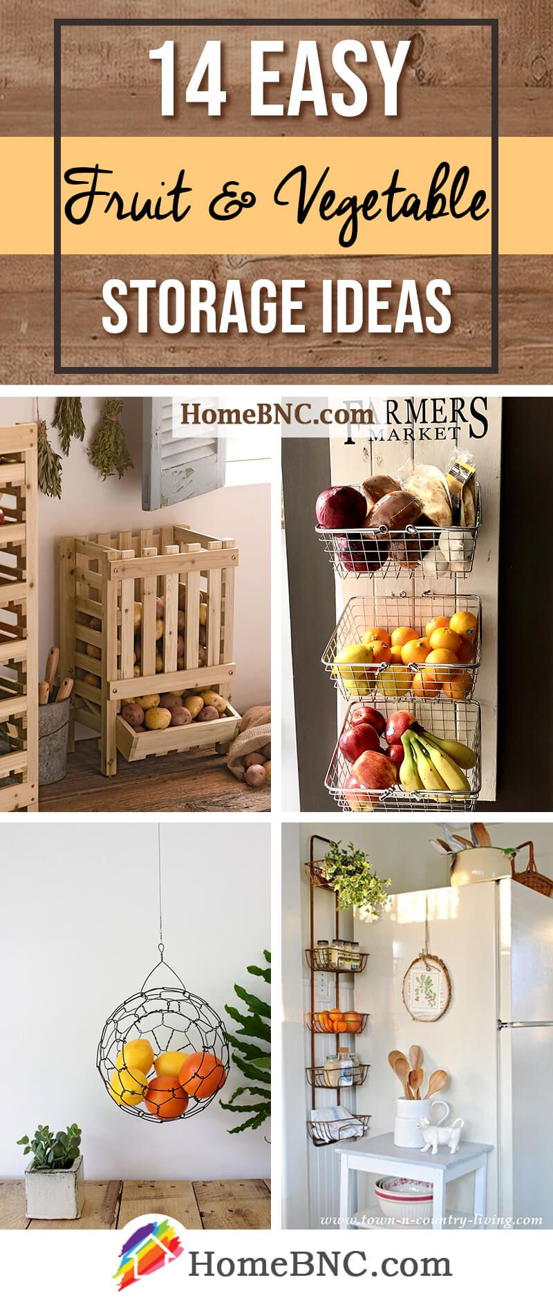 14 best fruit and vegetable storage ideas for 2018