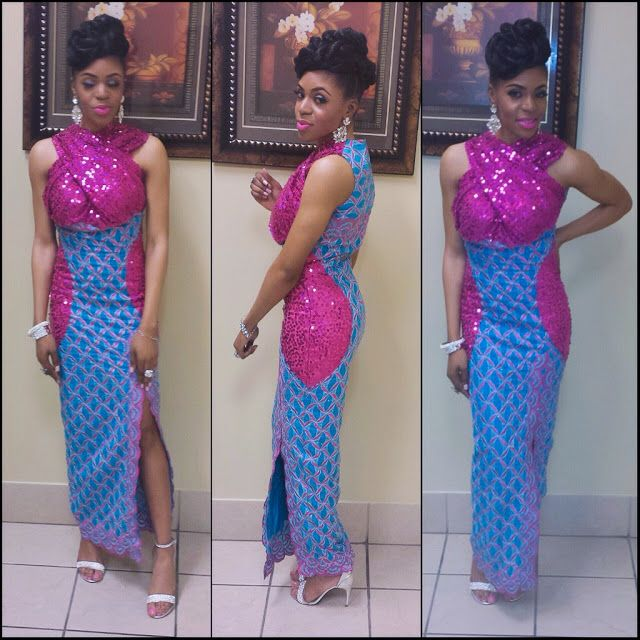 Fashion Beauty Zone: Creative Ankara Gown Design For Ladies