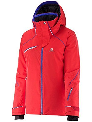 Salomon Women's Speed Jacket,Infrared,US XS ** You can get