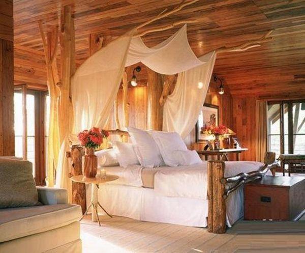 Best 15 Romantic Bedroom With Nature Ideas Log Cabin Bedrooms