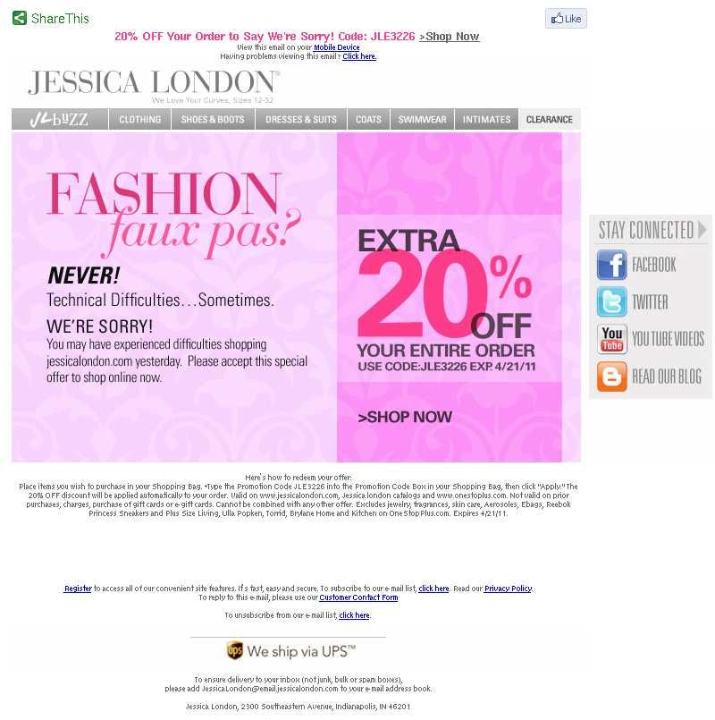 JessicaLondon apology email march Apology emails: about mistakes ...