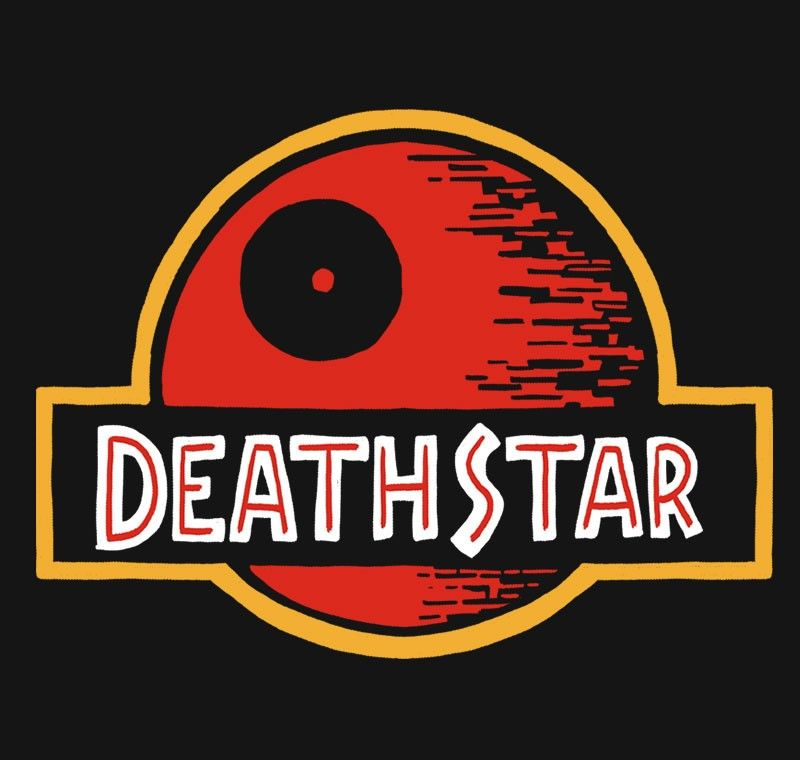 Jurassic Star T-Shirt $11 Death Star tee at RIPT today only!
