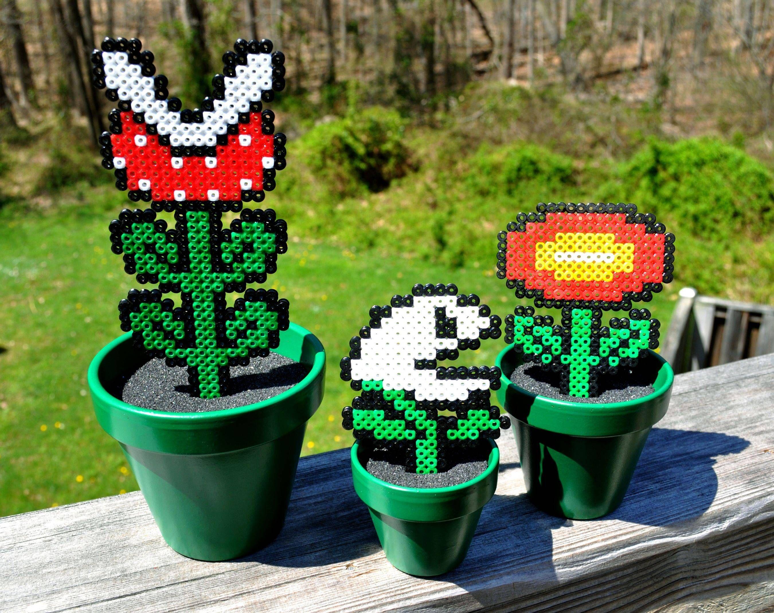 Super Marios Pflanzenwelt für\'s Kinderzimmer. Wunderbar und ...