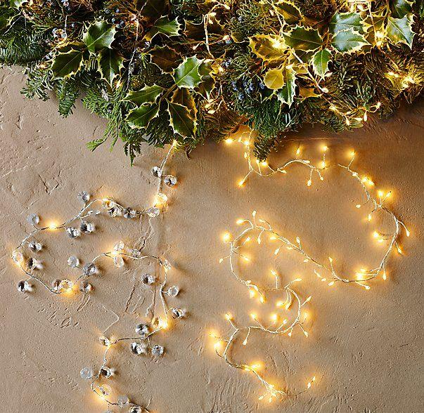 Starry String Light Crystal Beaded Garland   Home bits   Pinterest ...