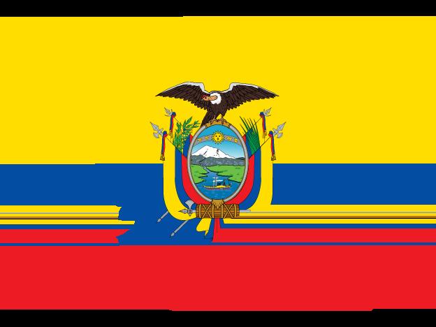 Flag Map Of Ecuador Free Vector Maps Map Vector Ecuador Flag Ecuador