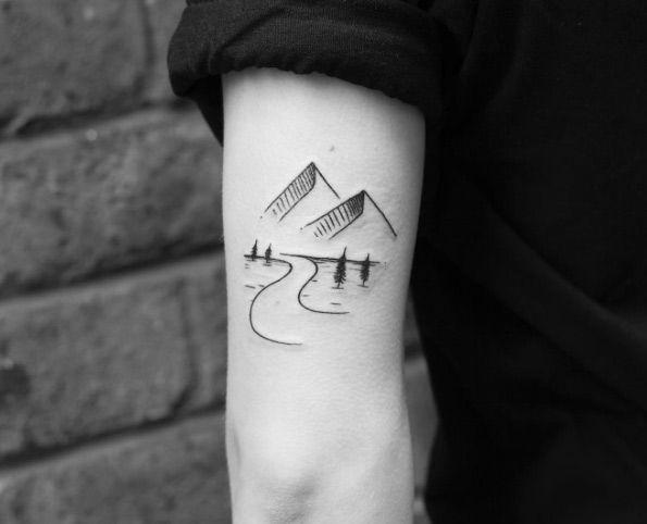 40 Creative Back Arm Tattoos For Men Women Tattoo Pinterest