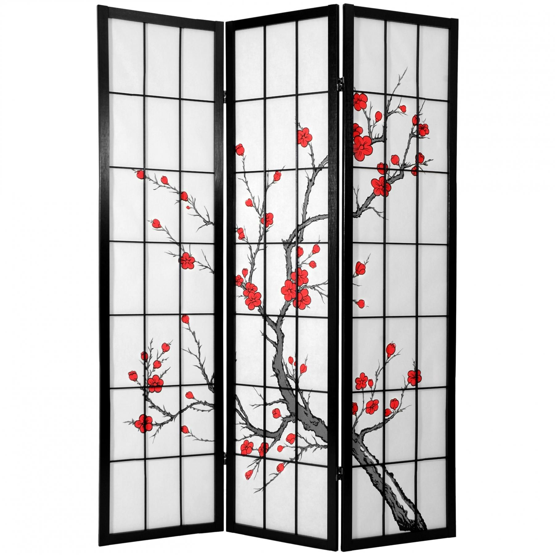 If You Want To Get One Of The Asian Room Dividers And Have Some - Cherry blossom room divider screen
