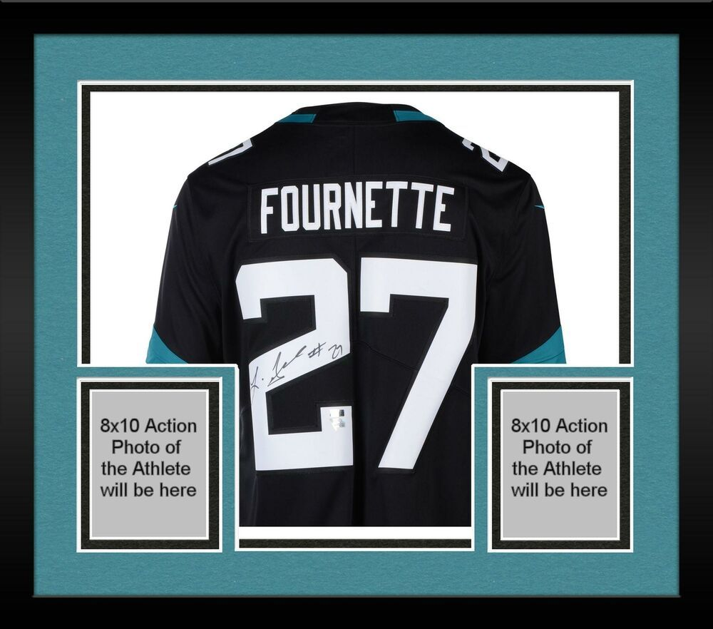 Autographed Leonard Fournette Jaguars Jersey Fanatics Authentic Coa Item 9406133 Sportsmemorabilia Autograph Football Black Nikes Jersey Jaguar Sign