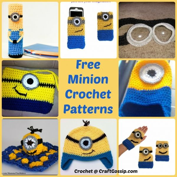 Minion Crochet patterns | Minion crochet patterns, Minion crochet ...