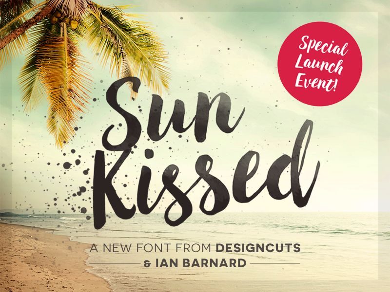 Download Sun Kissed Font   Brush font, Sunkissed, Brush fonts free