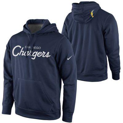 watch 479fe 3e49e Nike San Diego Chargers Script Hoodie - Navy Blue medium ...