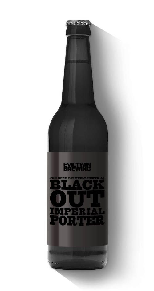 The Beer FKA Blackout - Evil Twin Brewing