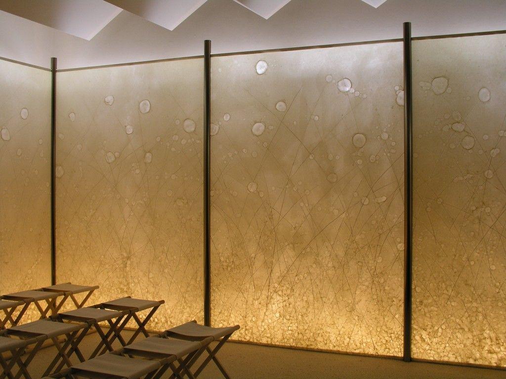 Laminated Glass Panel Entrance Lobby And Corridors