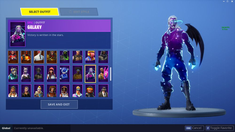 Fortnite Account 66 wins 100+ skins-GALAXY SKIN Save the world Limited Pack  130   fortnite  fortnitebattleroyale  live 45a6a4230