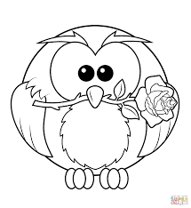 Image Result For High Resolution Colouring Book Images Owl Coloring Pages Rose Coloring Pages Coloring Books