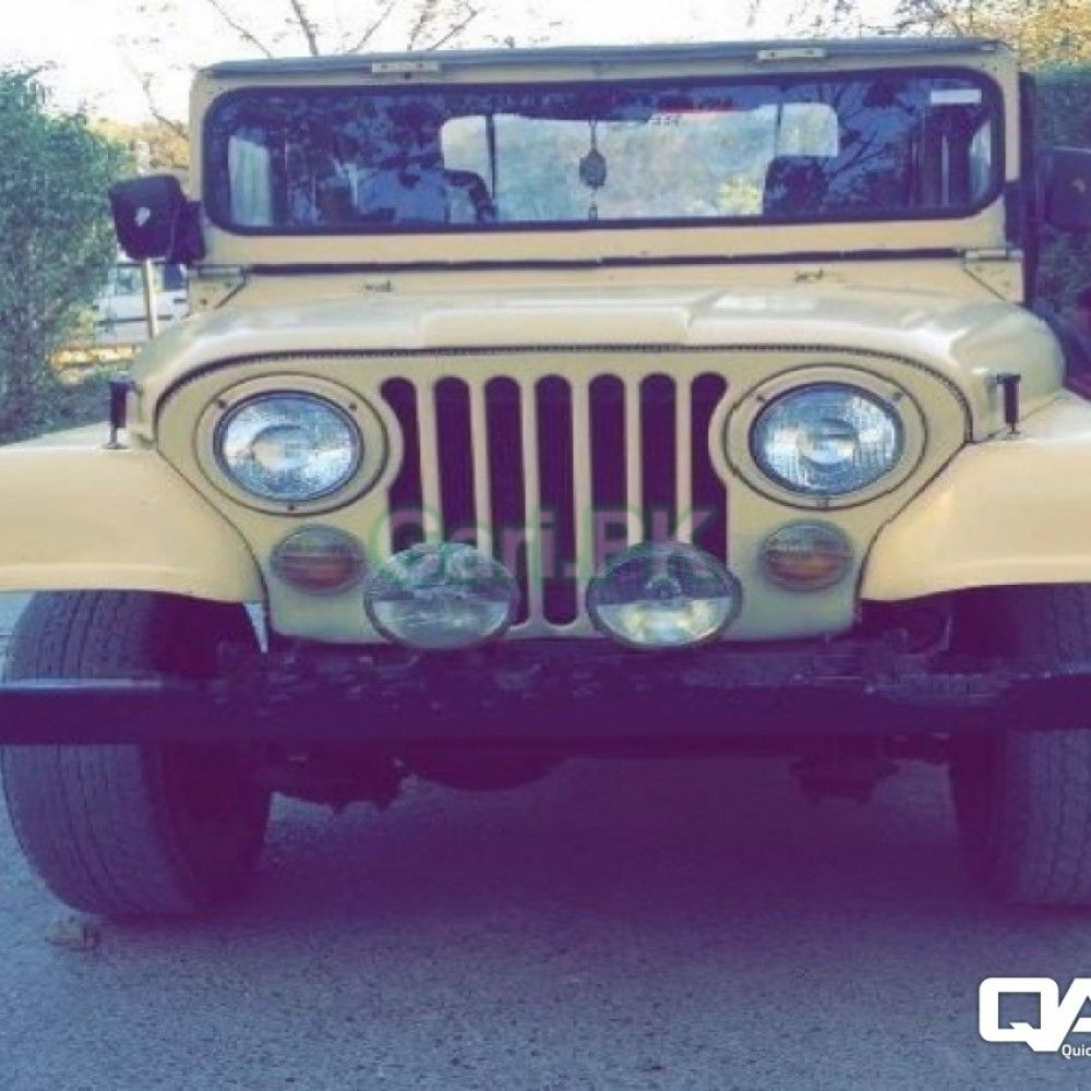 Jeep Cj 5 1982 For Sale In Islamabad Islamabad Buy Sell