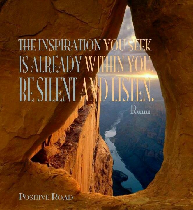 Inspirational Quotes About Positive: Maulana Jalaluddin Rumi On Pinterest