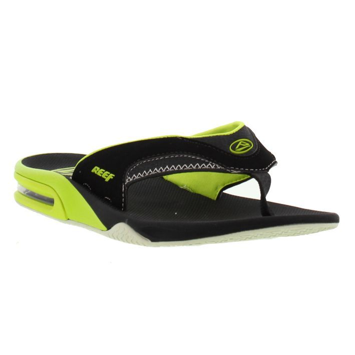 Reef Sandals Mens Fanning Electric Green - £35.99