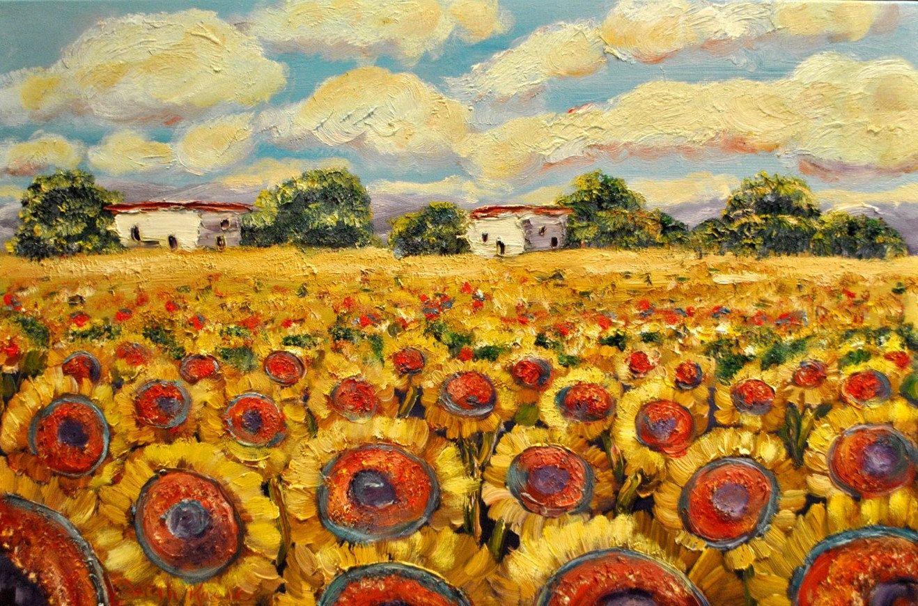 Sunflowers art pinterest sunflowers