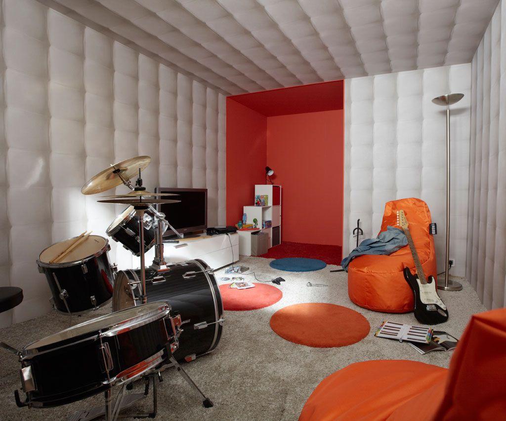 Pour les musiciens, aménager un studio de répétition est un casse