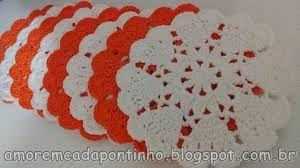 Výsledek obrázku pro coração de croche com grafico