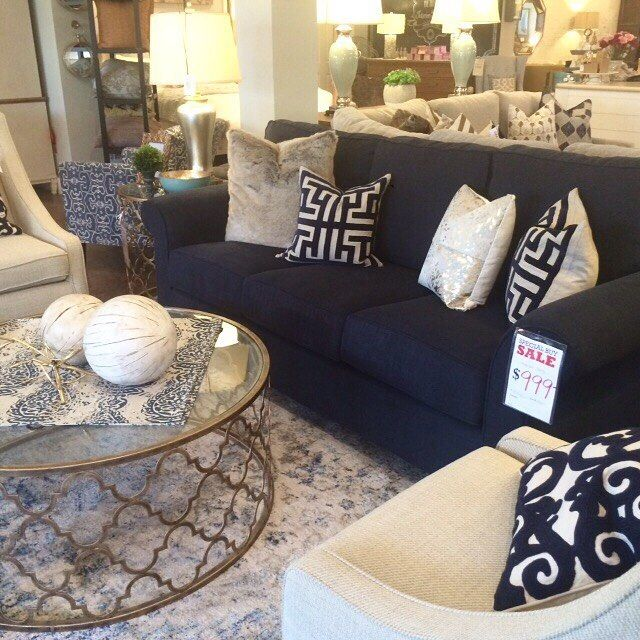 Beautiful Navy Sofa From Down To Earth Navy Sofa Living Room Blue Living Room Blue Sofa Living
