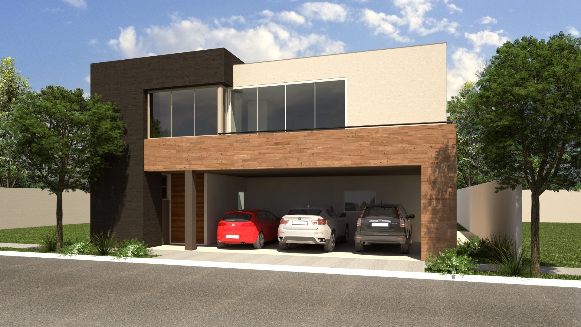 Cerezos residencial casas residenciales amuebladas en - Casas amuebladas modernas ...