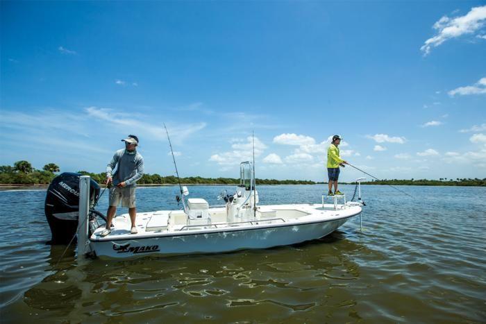 2016 mako 21 lts inshore fishing boat mako boats has for Inshore fishing boats