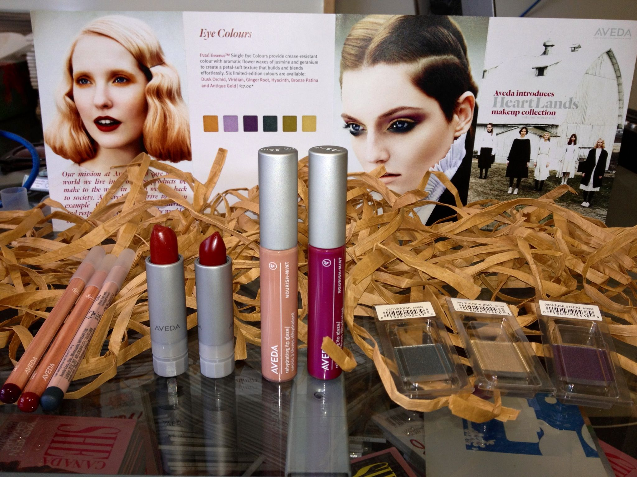 heartlands autumn collection by aveda makeup and skin care