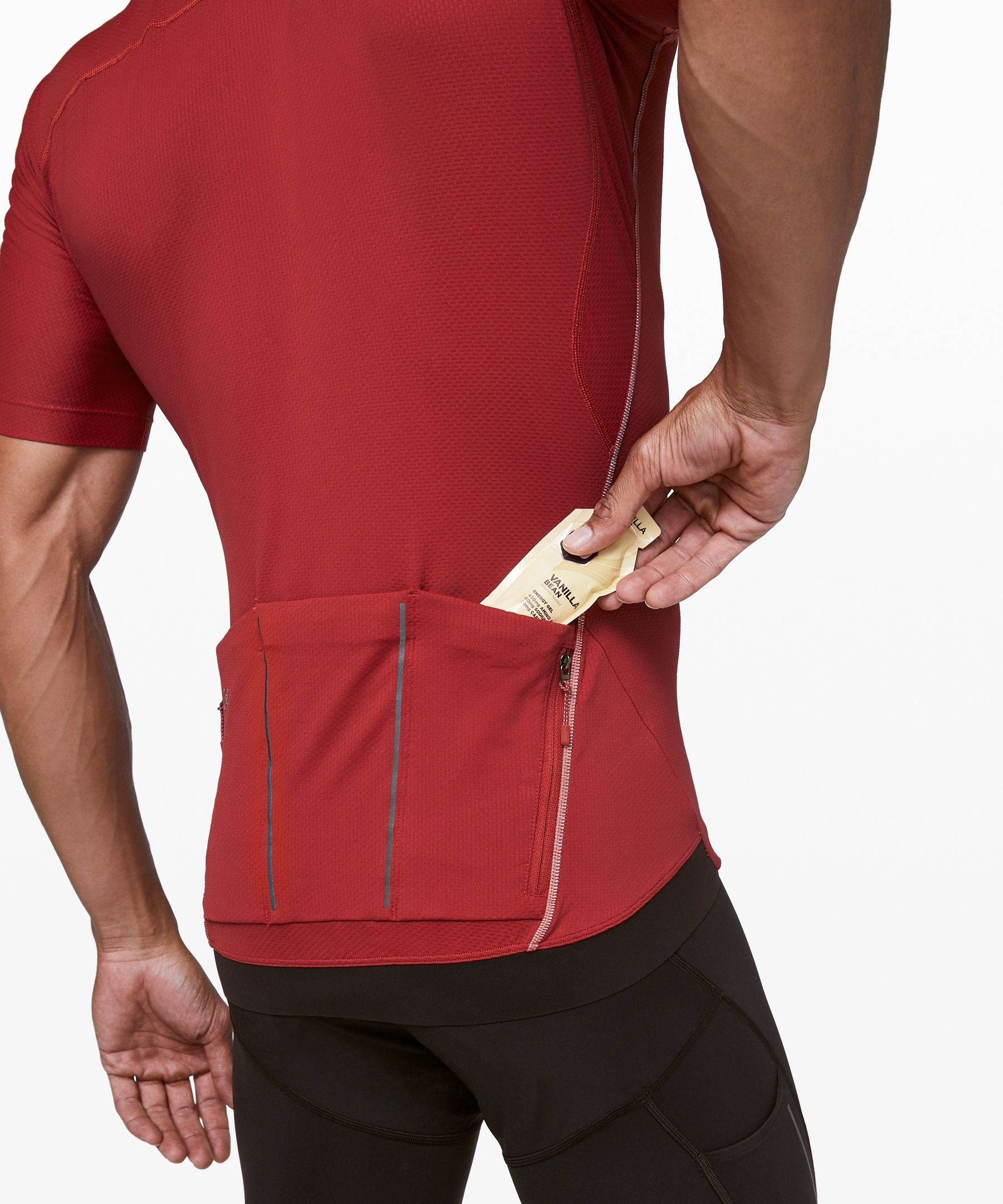 City To Summit Cycling Jersey Men S Short Sleeve Tops Lululemon Athletica Lululemon Men Cycling Tops