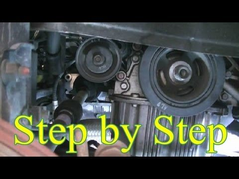 Step By Step Guide On How To Remove And Replace The Timing Belt