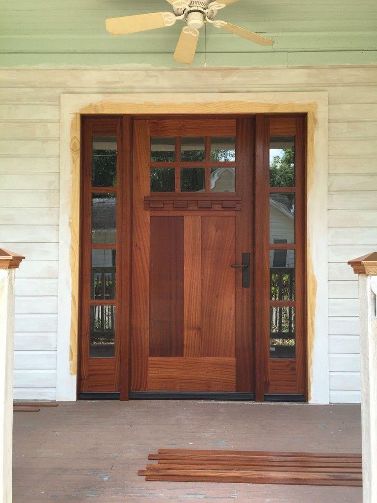 46 Pleasing Farmhouse Front Door Entrance Decor And Design Ideas Craftsman Style Front Doors Craftsman Style Doors Craftsman Front Doors