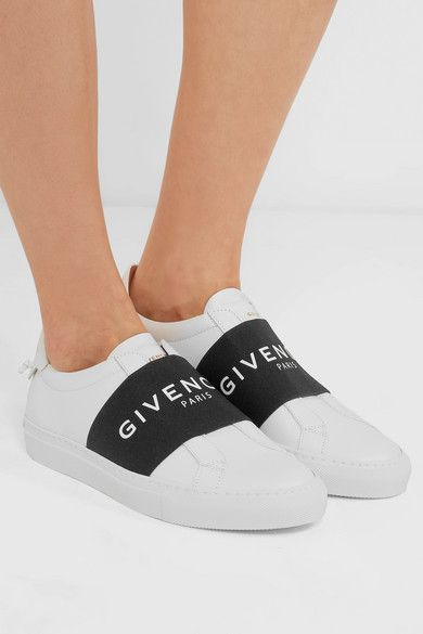 aeca6d102e2e Givenchy white Urban Street leather sneakers  shoes  luxe  shoecrush ...