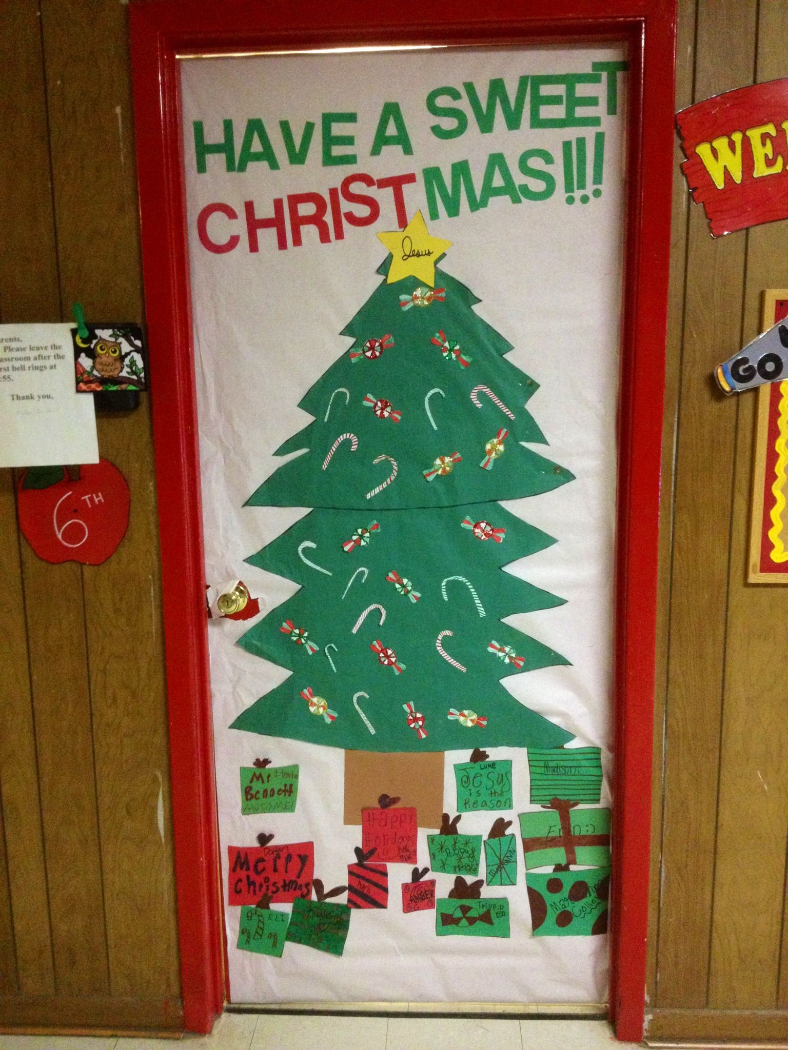 My 6th Graders Did A Wonderful Job Helping Me Decorate Our