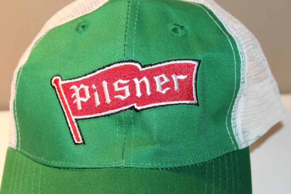 5039ce93d2f Pilsner Old Style Beer Mens Hat Cap Snapback One Size Fits All No Stains   Pilsner