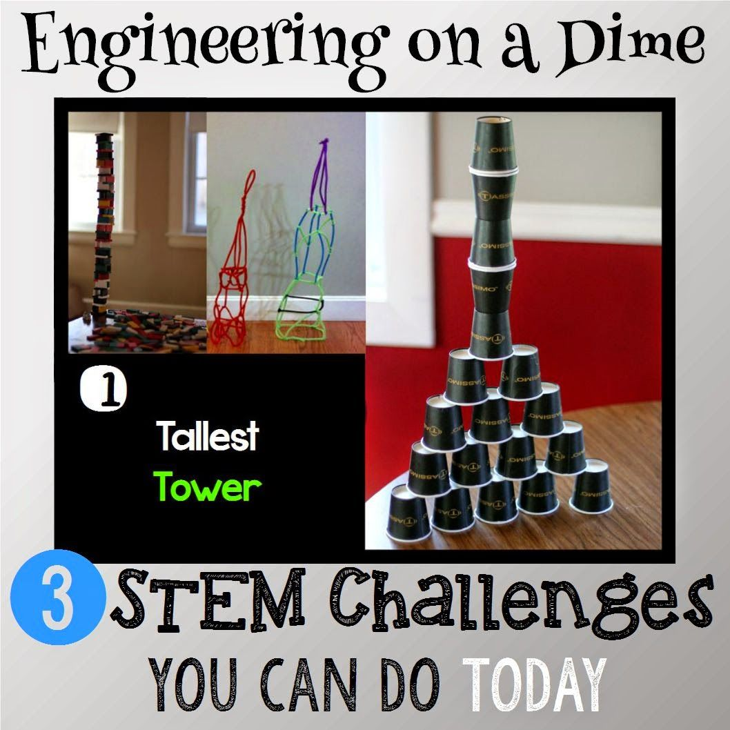 Engineering On A Dime 3 Stem Challenges You Can Do Today Stem