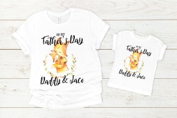 Daddy and Me Shirts Matching Dad Shirts Father Son Shirts Fathers Day Shirts Our First Fathers Day Shirts First Fathers Day Tees