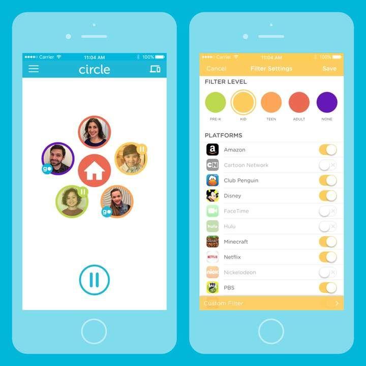 Circle With Disney CircleTM with Disney& WiFi Parental