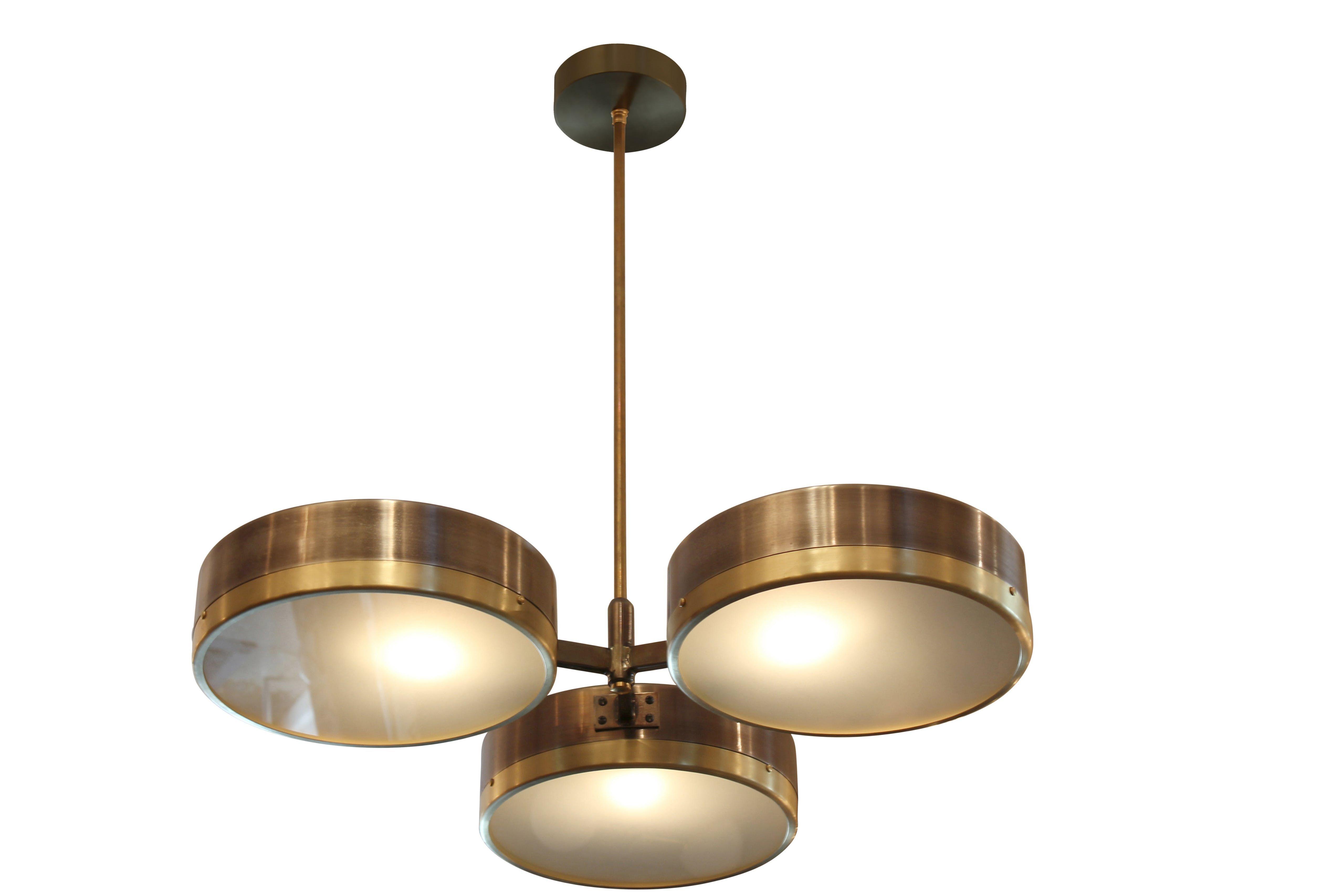 Downtown dante iii lighting ceiling | Drum chandelier