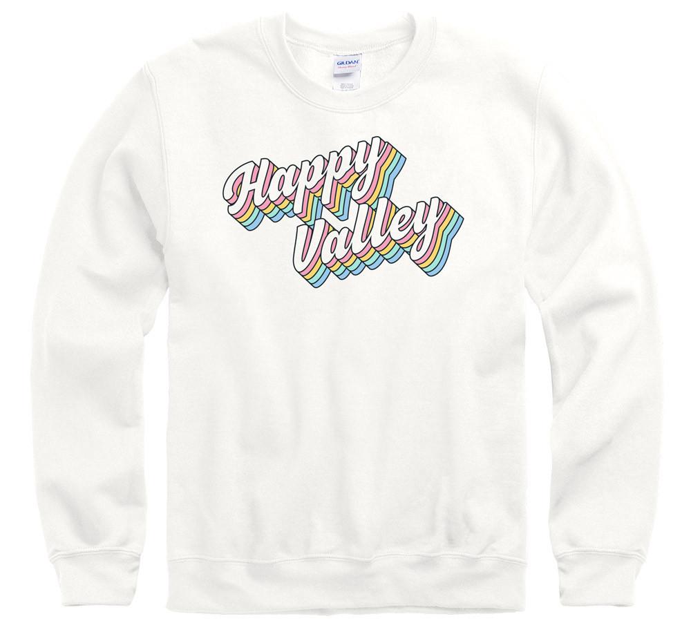 Penn State Happy Valley Groovy Rainbow Crewneck Sweatshirt Nittany Lions Psu Crew Neck Sweatshirt Sweatshirts State Clothes [ 915 x 1000 Pixel ]