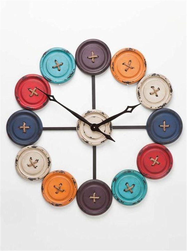 60 Diy Unique Wall Clock Designs Ideas Handmade Wall Clocks