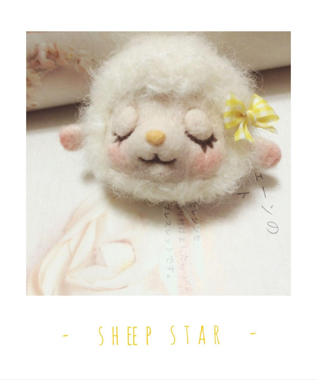 #羊毛毡# 软软的羊咩咩