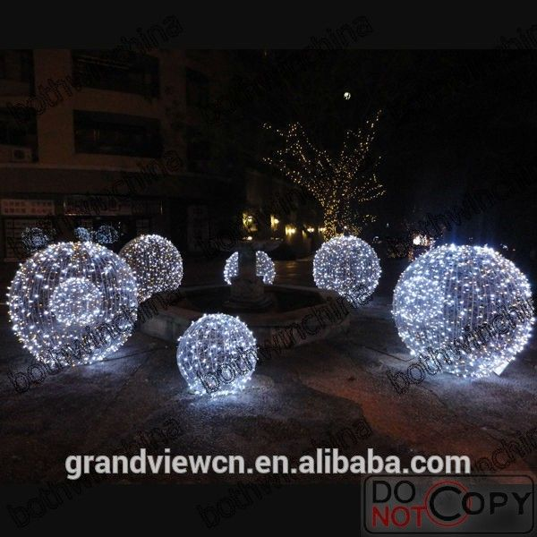 Large Festival Decorative Led String Light Led Outdoor Christmas Ball Light - Buy Large Outdoor Christmas Balls LightsChristmas LightLed Decorative String ... & Large Festival Decorative Led String Light Led Outdoor Christmas ...