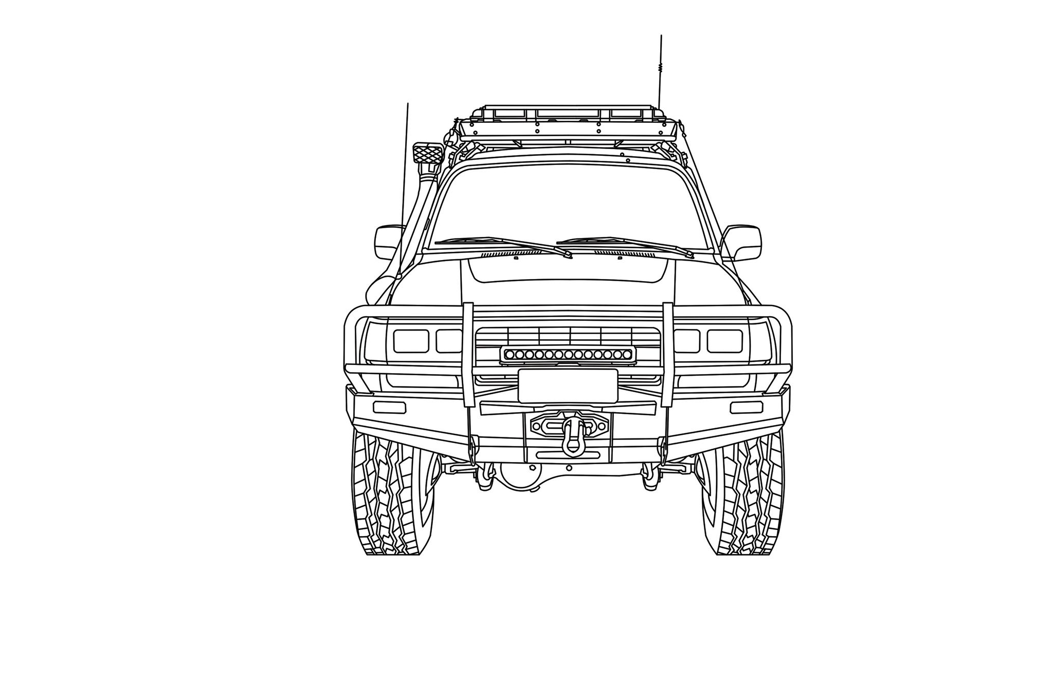 1994 toyota land cruiser diagram rear [ 2048 x 1360 Pixel ]
