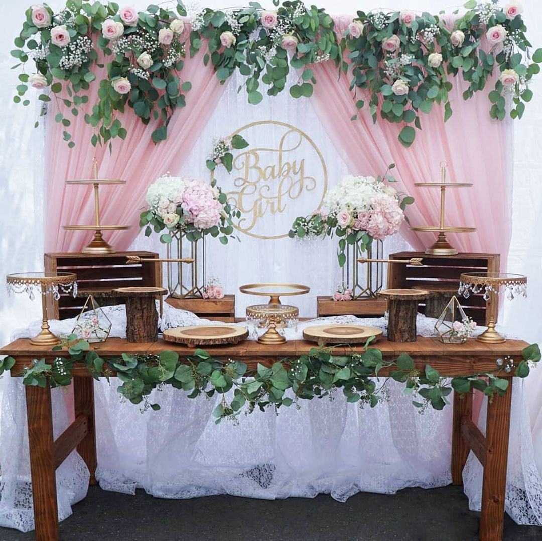Beautiful Baby Shower For A Girl Styled By Four Forty Four Events