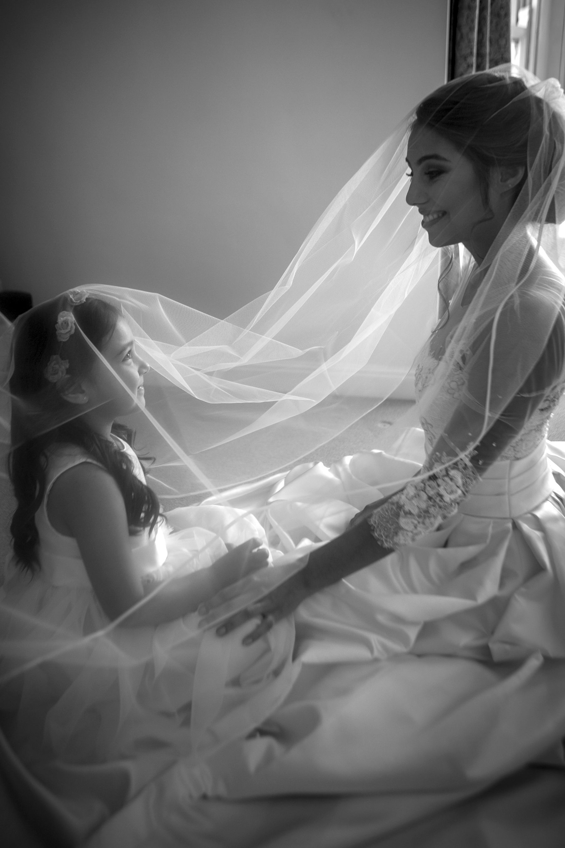 Black white wedding dress  Ask your photographer to capture tender moments between you and your