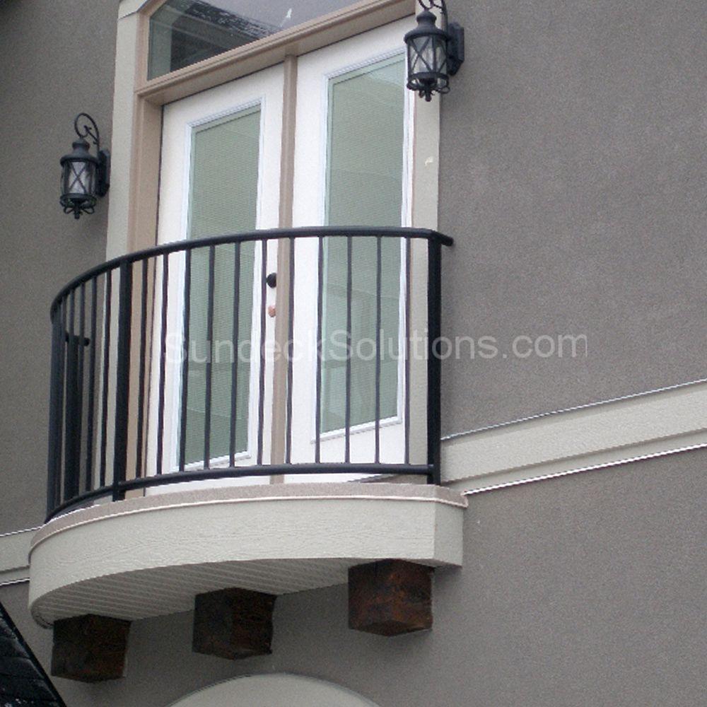 Best Juliet Balcony Custom Welded Rail Manufactured In 400 x 300